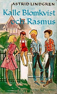 <i>Bill Bergson and the White Rose Rescue</i> book by Astrid Lindgren