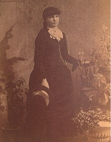 Kate Morgan in circa 1886.