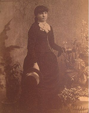Kate Morgan - Photograph of Kate Morgan taken circa 1886