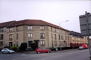 Shettleston - Housing in Kenmore Street, Shettleston in 2004.