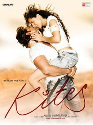 Kites (film) - Theatrical release poster