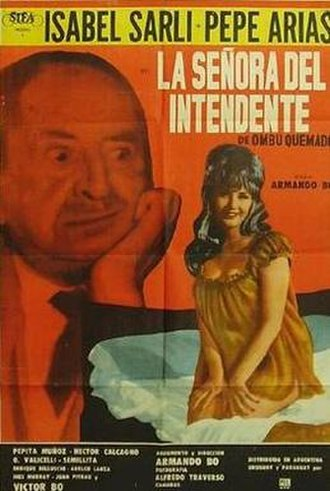 La señora del intendente - Pot for the film