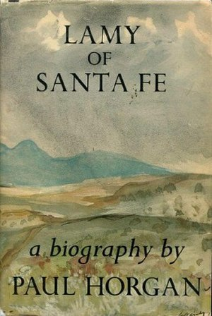 Lamy of Santa Fe - Image: Lamy of Santa Fe book cover