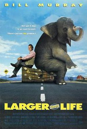 Larger than Life (film) - Theatrical release poster