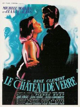 The Glass Castle (1950 film) - Image: Le chateau de verre poster