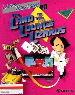 Leisure Suit Larry in the Land of the Lounge Lizards - Leisure Suit Larry in the Land of the Lounge Lizards