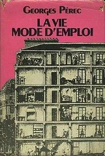 <i>Life: A Users Manual</i> 1978 novel by Georges Perec