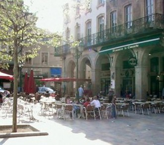 Limoux - Image: Limoux cafes France
