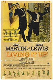 <i>Living It Up</i> 1954 film by Norman Taurog