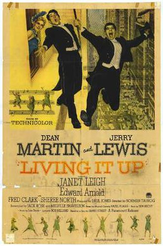 Living It Up - Original film poster