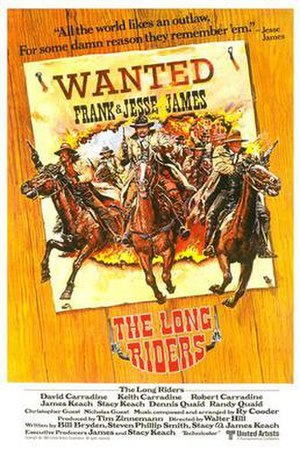 The Long Riders - Theatrical release poster