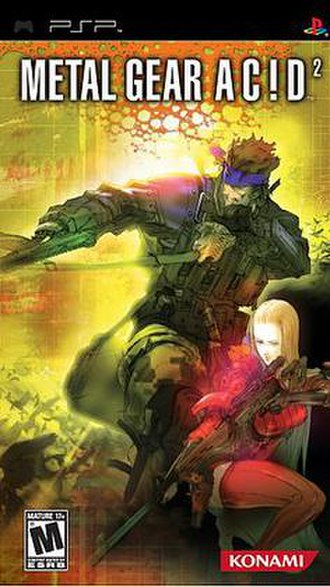 Metal Gear Acid 2 - Image: MGA2 box