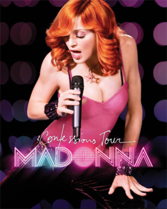 Confessions Tour - Promotional poster for the tour