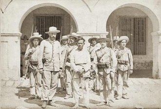 Battle of Kakarong de Sili - Maestrong Sebio after the battle.