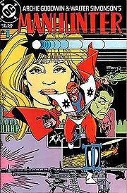 The cover of the second Manhunter collection (1984). Art by Walt Simonson.