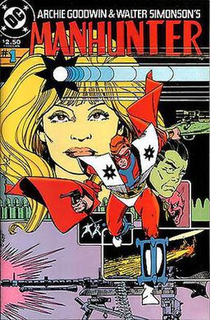Manhunter (comics) - The cover of the second Paul Kirk Manhunter collection (1984). Art by Walt Simonson.