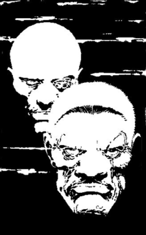 Marv (Sin City) - Marv (right) and Dwight from A Dame to Kill For