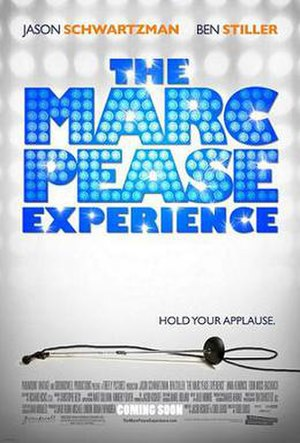 The Marc Pease Experience - Promotional film poster