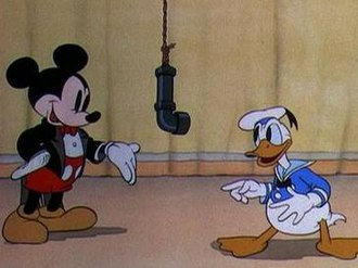 """Mickey's Amateurs - Mickey Mouse invites Donald Duck to recite """"Twinkle, Twinkle, Little Star"""""""