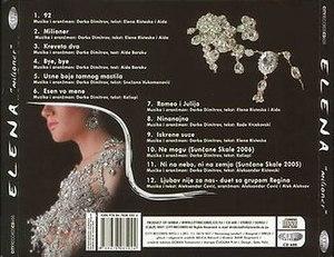 Milioner (album) - Image: Milioner backcover