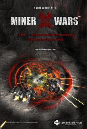 Miner Wars 2081 - A promotional poster for the game.