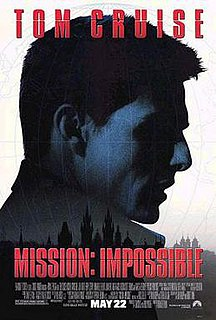 <i>Mission: Impossible</i> (film) 1996 film directed by Brian De Palma