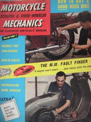 Motorcycle Mechanics (magazine) - Image: Motorcycle Mechanics first issue April 1959