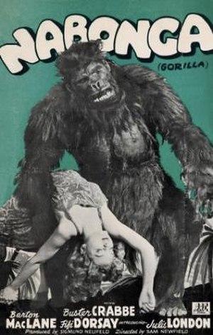 Nabonga - Original film poster