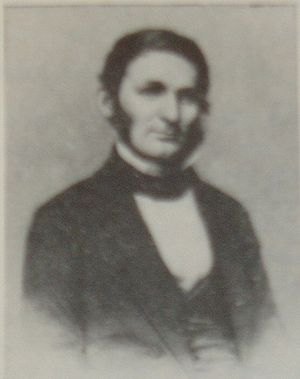 "Baltimore City College - Prof. Nathan C. Brooks (1809–1898), first founding principal of ""The High School"", after 1844 known as ""The Male High School"" (now ""Baltimore City College"""