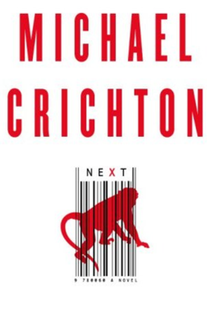 Next (novel) - Image: Next book cover
