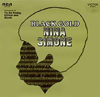 Black Gold (Nina Simone album) - Image: Ninasimoneblackgold