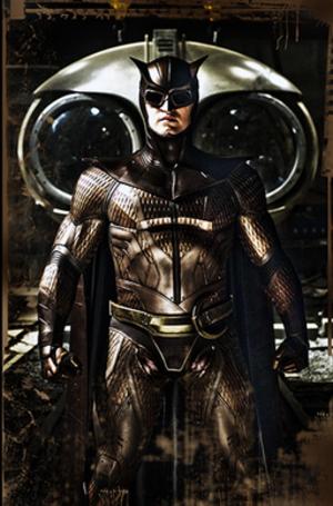 Nite Owl - Nite Owl's costume as seen in the Watchmen film adaptation.