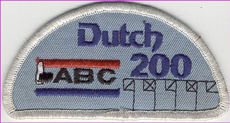 Dutch 200 - This is the award an American Bowling Congress member received for bowling this type of game in the 1990s.