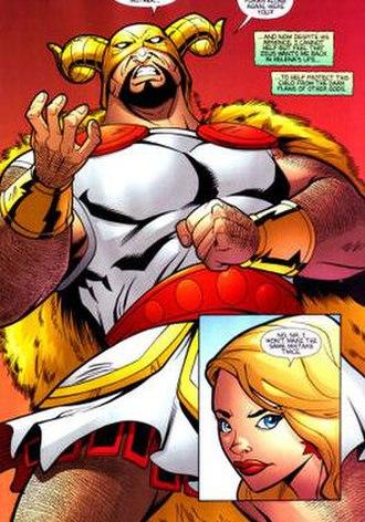 Olympian (comics) - Image: Olympian (comics) from wondergirl v 1 i 4