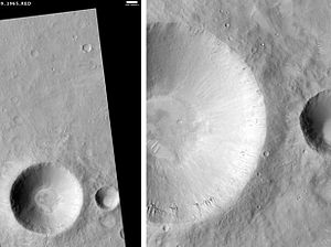 Amenthes quadrangle - Image: Onon Crater