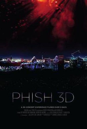 Phish 3D - Theatrical poster