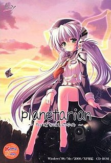<i>Planetarian: The Reverie of a Little Planet</i> 2004 video game