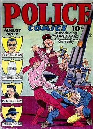 Police Comics - Image: Police Comics 1