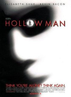 <i>Hollow Man</i> 2000 film directed by Paul Verhoeven