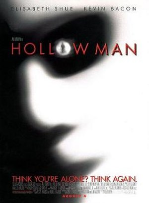 Hollow Man - Theatrical release poster