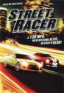 Poster of the movie Street Racer.jpg