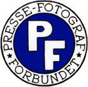 Danish Union of Press Photographers - Image: Pressefotografforbun det logo