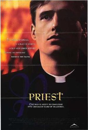 Priest (1994 film) - Original poster