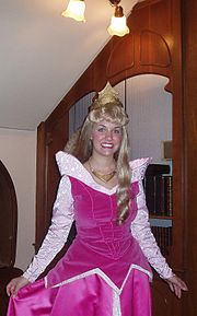 Sleeping Beauty cast member at Walt Disney World
