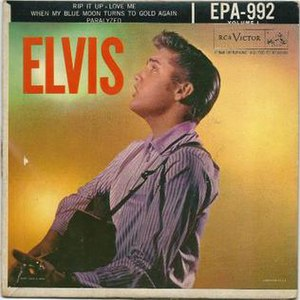 Paralyzed (Elvis Presley song) - Image: RCA epa 992 Elvis Paralyzed