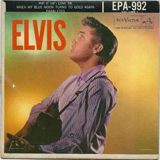 Paralyzed (Elvis Presley song) - Image: RCA epa 992 Elvis Paralyzed