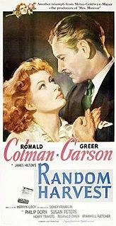 <i>Random Harvest</i> (film) 1942 American film by Mervyn LeRoy
