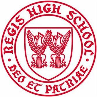 Regis High School (New York City) - Image: Regis crest