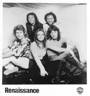Renaissance (band) - Renaissance, 1979. Clockwise from upper left: Terry Sullivan, Michael Dunford, John Tout, Annie Haslam, and Jon Camp.
