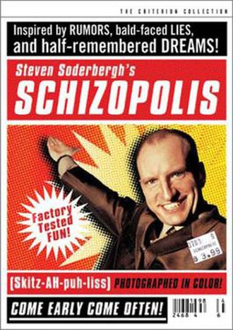 Schizopolis - DVD cover of the Criterion release